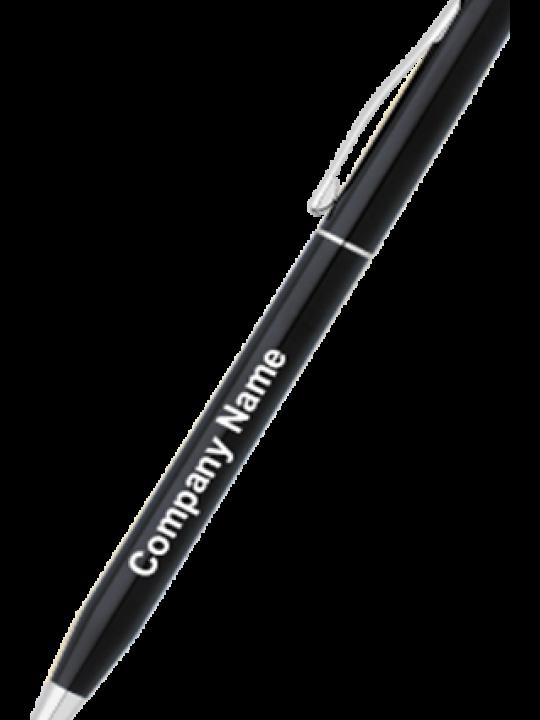 Cross AT0082-77 Black Lacquer Century Ball Pen