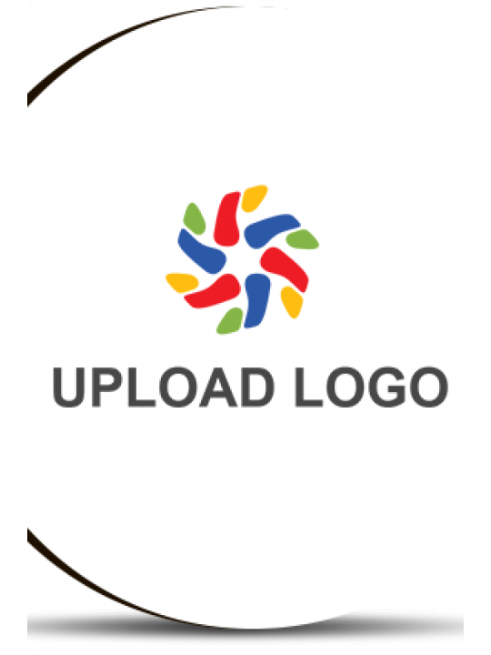 Upload Logo Round MDF Magnet