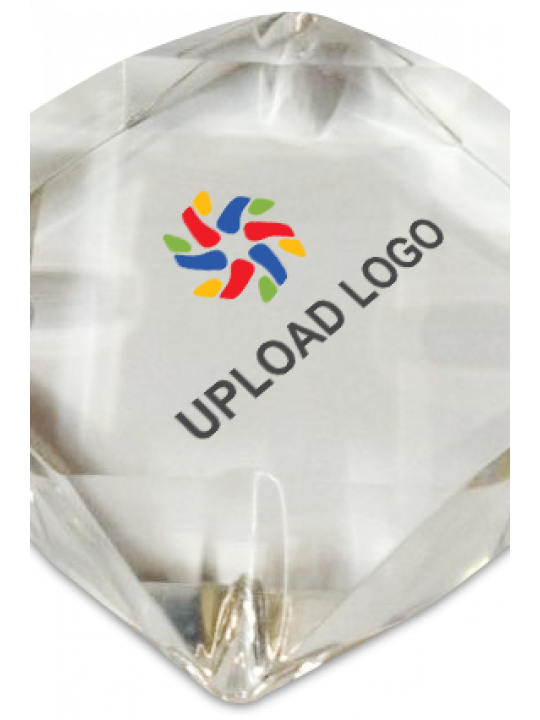 Upload Logo Paperweight