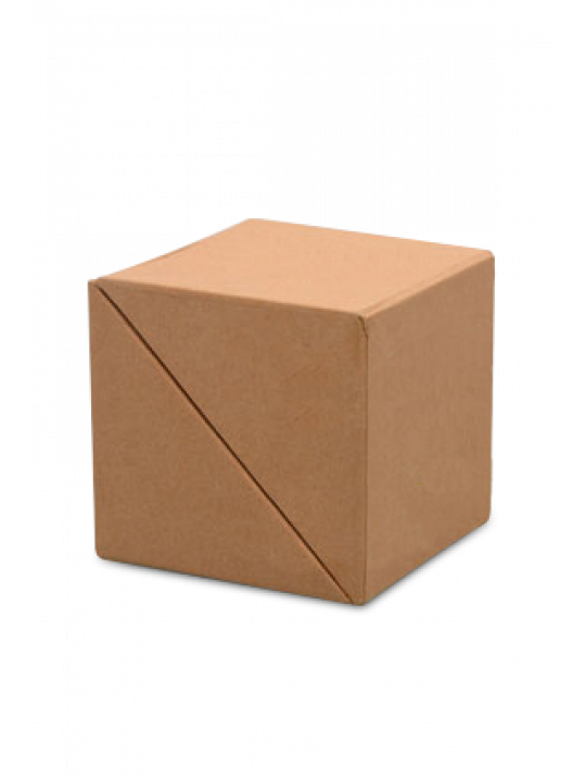 Folding Paper Cube With Memo Pad And Tumbler - Business