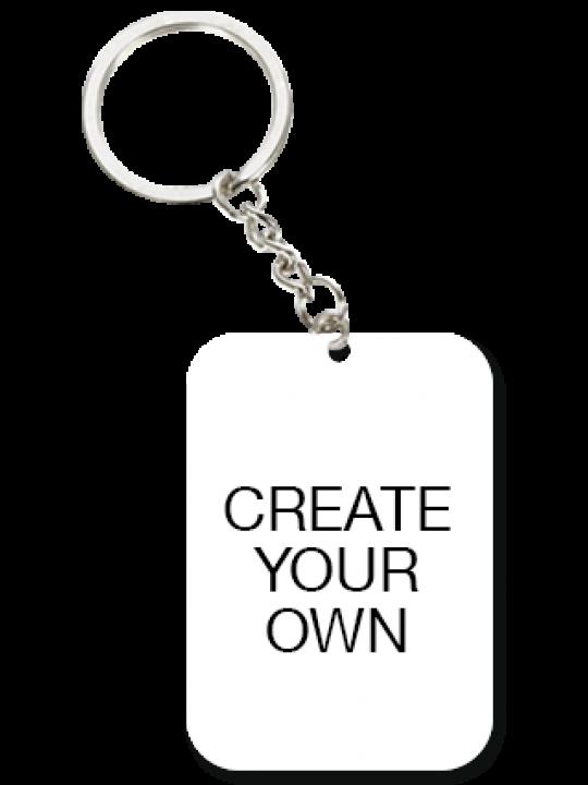 Create Your Own Big Rectangular Key Chian
