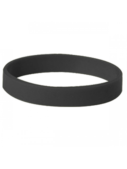 Happy Friendship Day Black Silicon Wristband