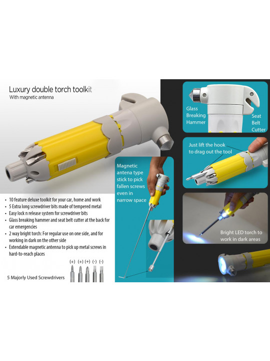 Stylish Double Torch Toolkit G24