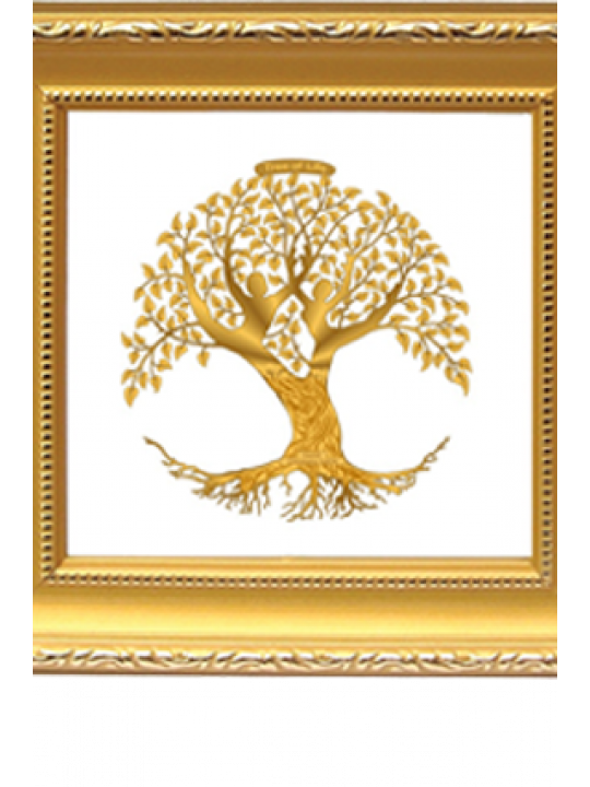 Customized Gold Plated Tree Of Life Dg 1A