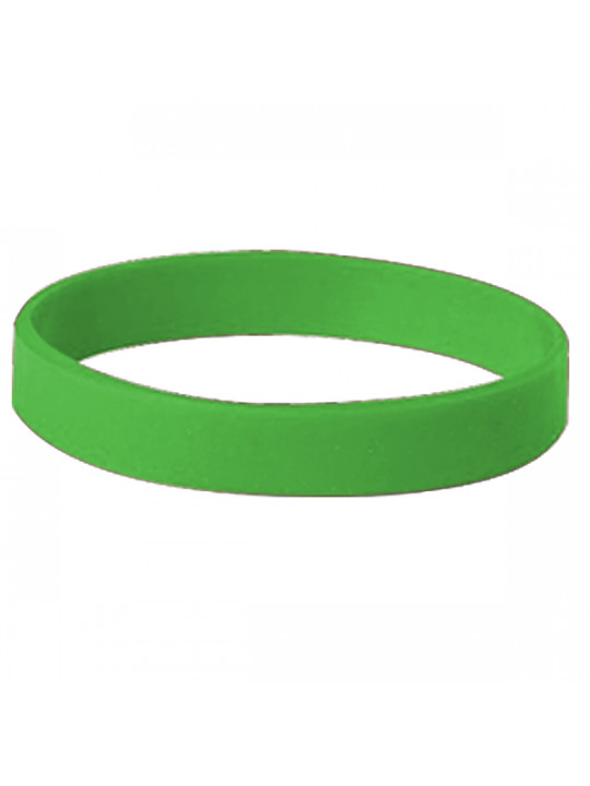 Green Silicon Wristband