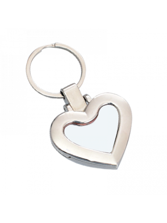 Heart Shape Keychain With Photo Frame And Mobile Stand J66