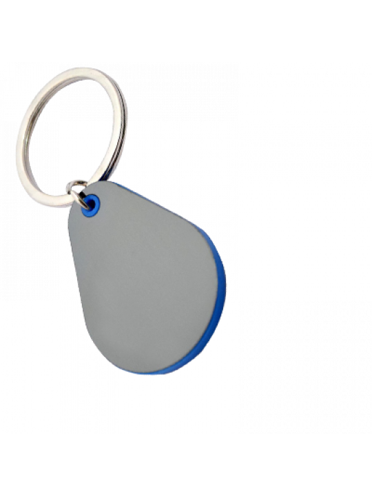 Droplet Shape Keychain With Highlights J92
