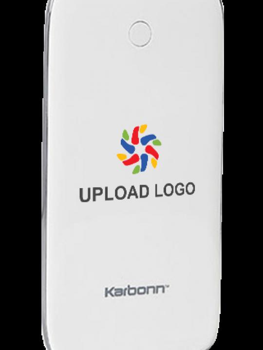 Upload Logo 7000mAh Karbonn Power Bank