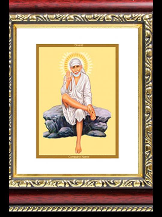 Promotional Sai Baba Rock Pose Frame Dg S 1
