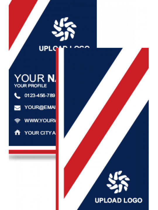 Personalised Amazing Vertical Business Card