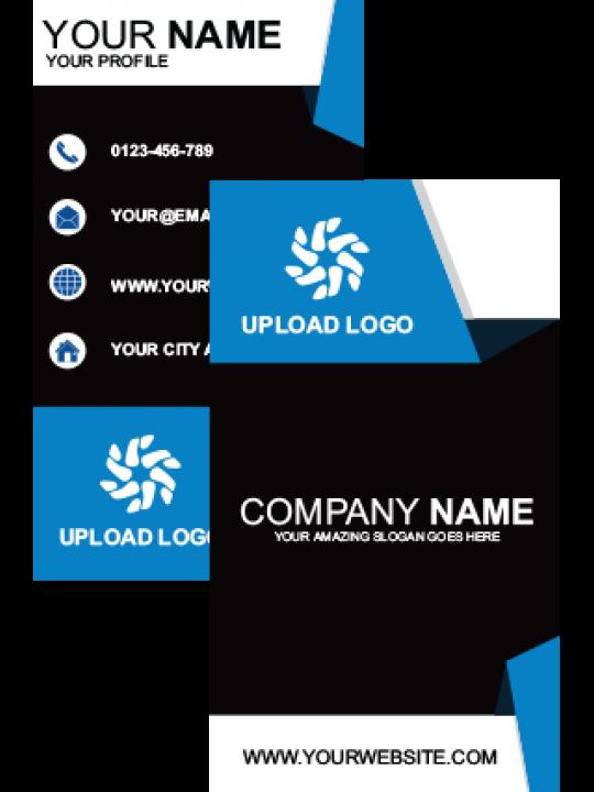 Mixed Vertical Business Card