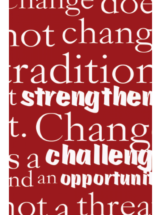 Change & Challenging Poster