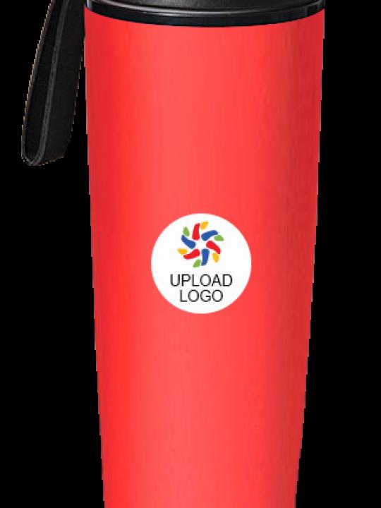 Upload Logo Chipkoo Bottle H78 Red