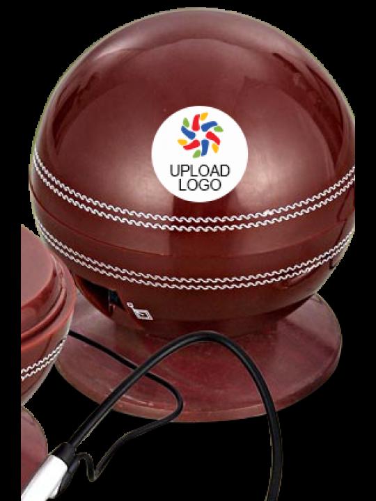 Upload Logo Cricket Ball Shape Telephone- E-04