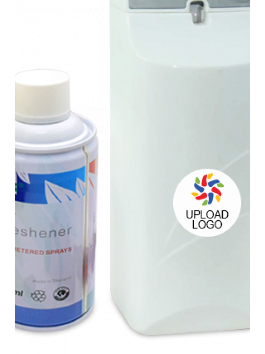Upload Logo Auto Spray Room Freshener E-36