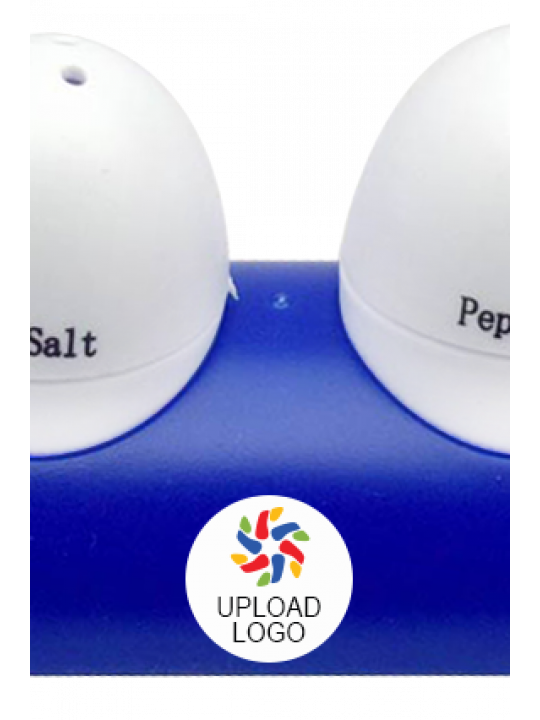 Upload Logo Egg Shape Salt & Pepper Shaker E-91