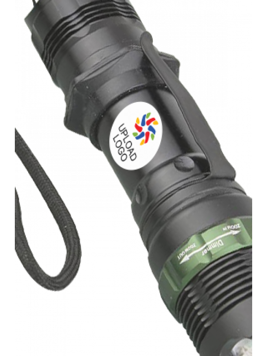 Upload Logo Premium Metallic Focus Torch E-104