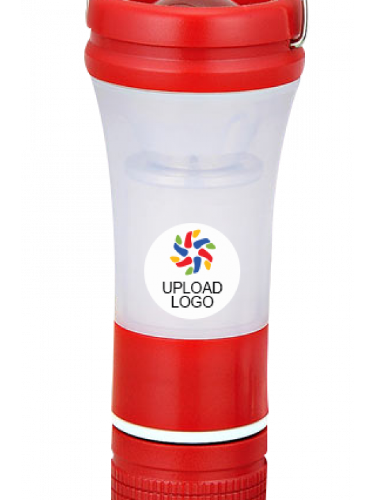 Upload Business Logo Mini Lantern With Focus Torch E-135