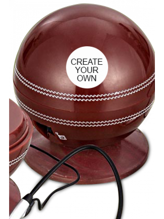 Create Your Own Cricket Ball Shape Telephone- E-04