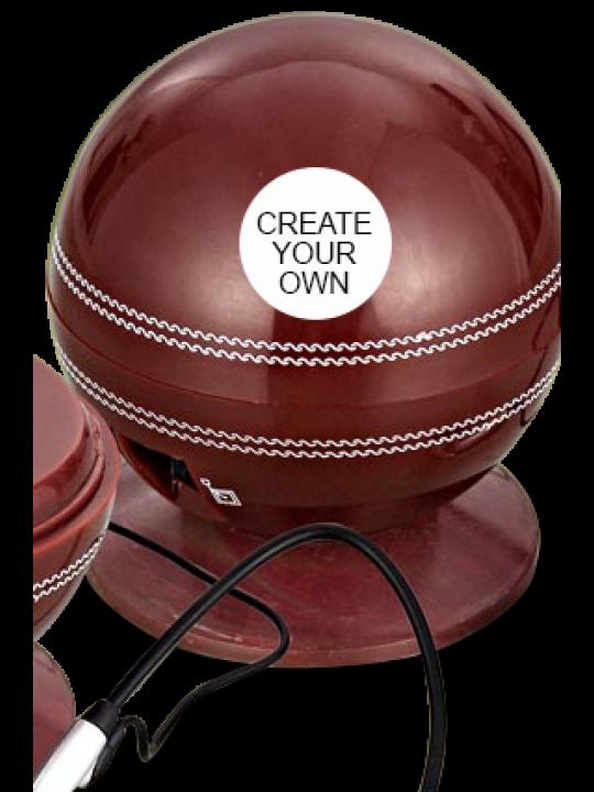 Create Your Own Cricket Ball Shape Telephone- E-04