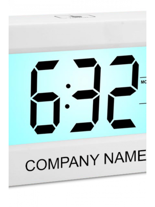 Large Sensor Clock With Backlight And Temperature - A103