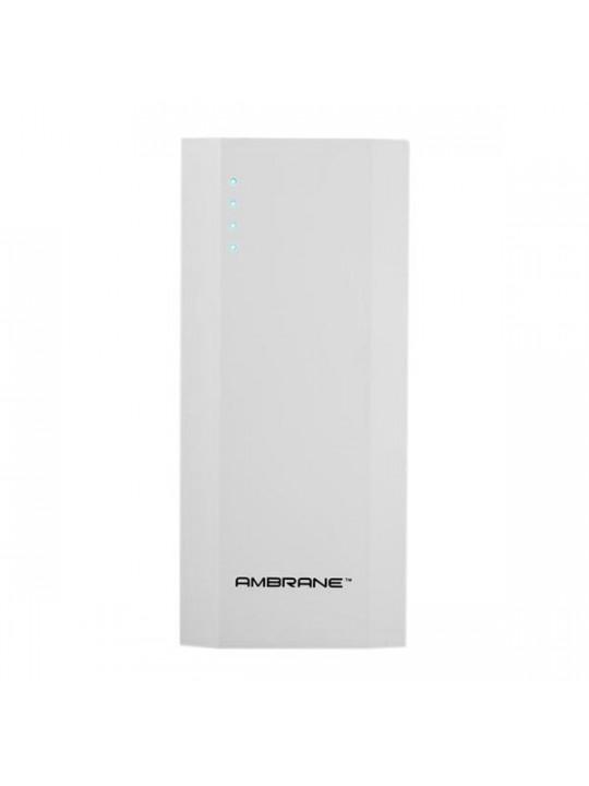 Ambrane Power Bank P-1111 10000mAh-White