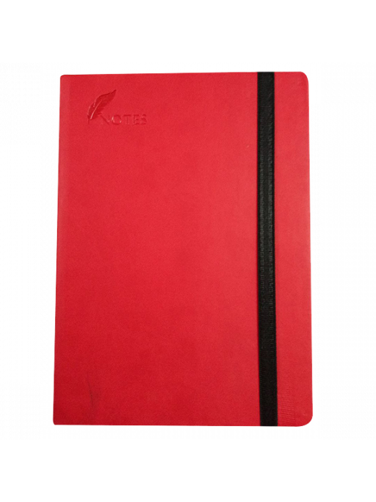 A5 Notebook 163 - Red