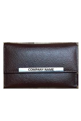 Printed Ladies Wallet LW 128 Brown