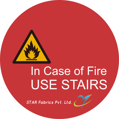 Fire Fighting Sticker