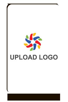 Upload Logo Portrait MDF Magnet