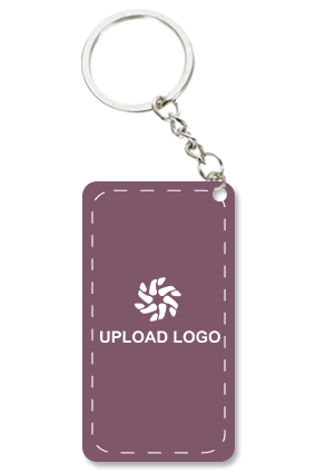 Promotional Purple Key Chain