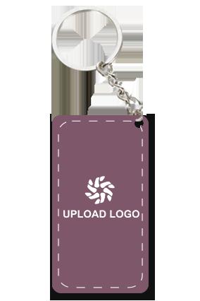 Promotional Purple Key Chain