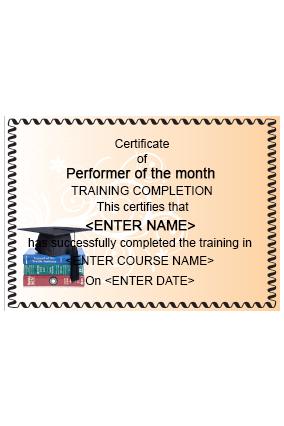 Premium Intellectual Education Industry Certificate