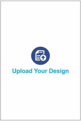 Upload Your Design Portrait Invitation Card - 4 X 8 Inch
