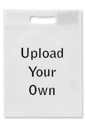 Upload Your Own Non Woven D-Cut Utility Bag