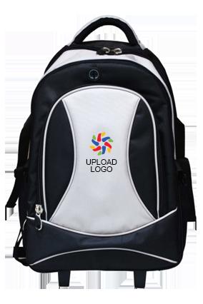 Upload Logo Luxury Strolley Backpack E-121