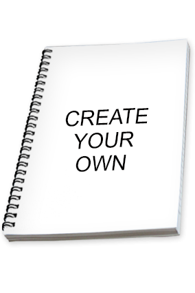 Create Your Own Promotional  Notebook