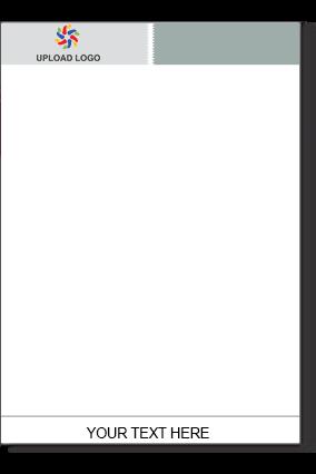 Gray Color Letter Head
