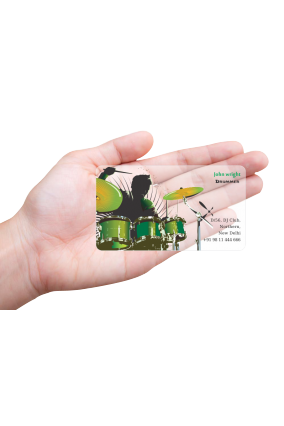 Transparent plastic business cards online in india with custom ace entertainment transparent business card reheart Gallery
