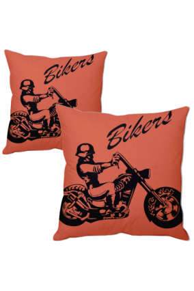 Biker Personalized Cushion Cover
