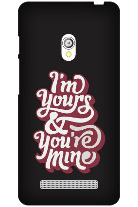 Asus Zenfone 5 Committed Black Mobile Cover