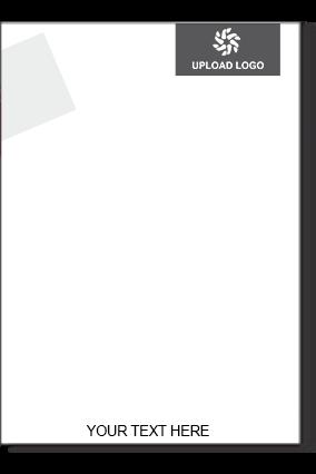Dark Gray Color Letter Head
