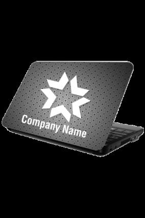 Digital Black Laptop Skin