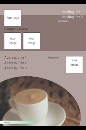 Coffee Buzz Restaurant Poster