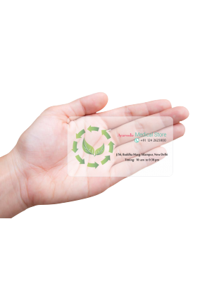 Corporate Pharmacy Modish Transparent Business card