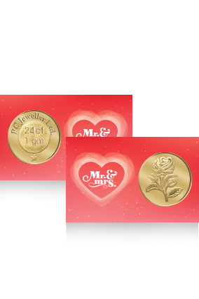 Customized Fantastic Rose Gold Coin