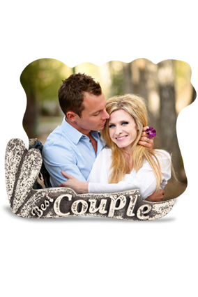 Couple Strength Photo Frame