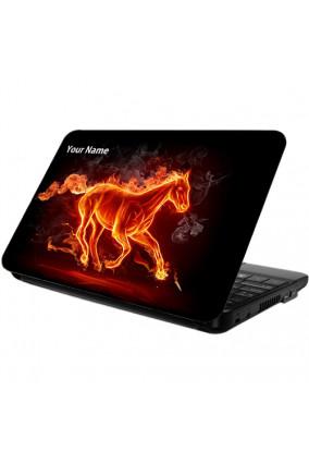 Running Horse Laptop Skin