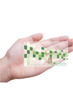 Aspiration Doctor Transparent Business card