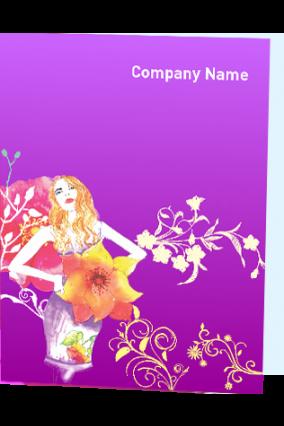 Elegant Beauty Salon Folder
